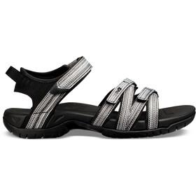 Teva Tirra Sandalen Dames, zwart/wit
